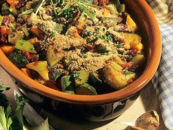 Bohnen-Gemüsetopf
