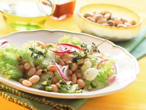 Bohnen-Sellerie-Salat