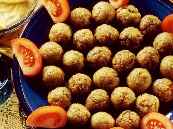 Bohnenbällchen