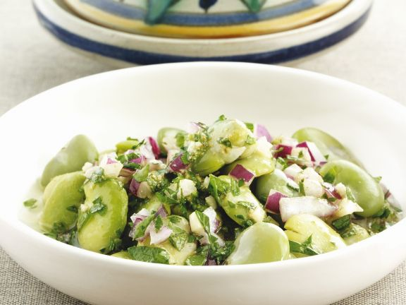 Bohnensalat auf marokkanische Art