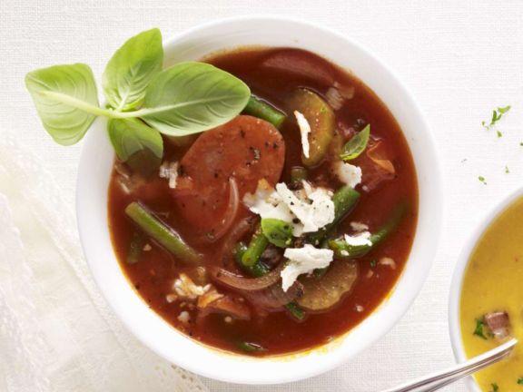 Bohnensuppe aus Italien
