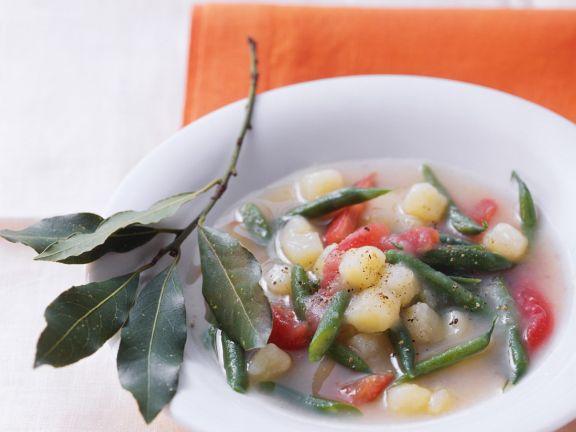 Bohnensuppe mit Kartoffeln