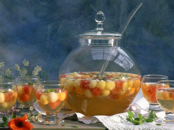 Bowle mit Melone