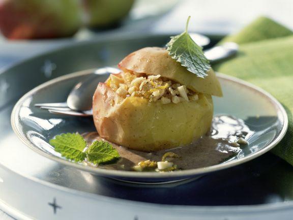 Bratapfel mit Zimtsauce