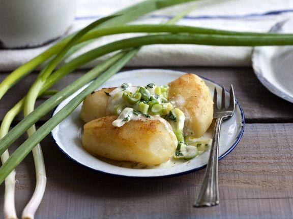 Bratkartoffeln mit Joghurt