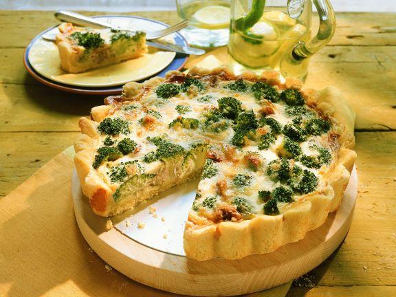 Brokkoli-Käse-Kuchen