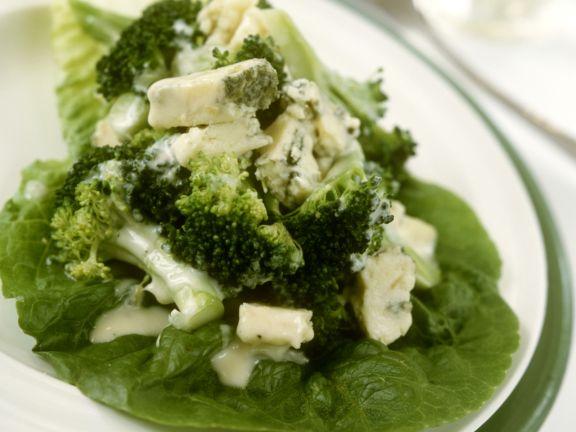 Brokkoli mit Blauschimmelkäse