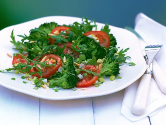 Brokkolisalat mit Rucola