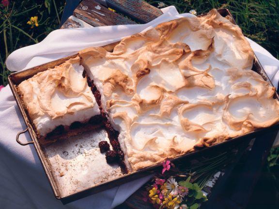 Brombeer-Baiser-Kuchen
