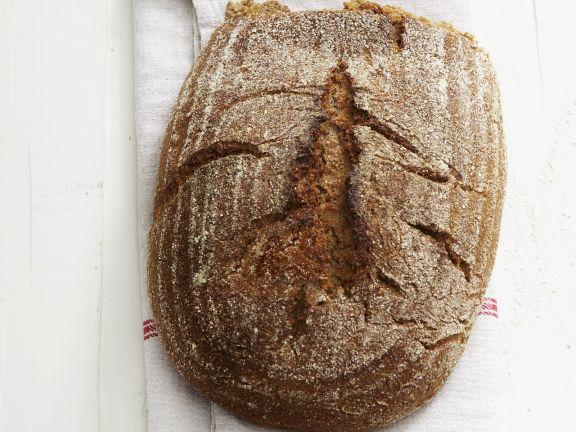 Brot mit knuspriger Kruste