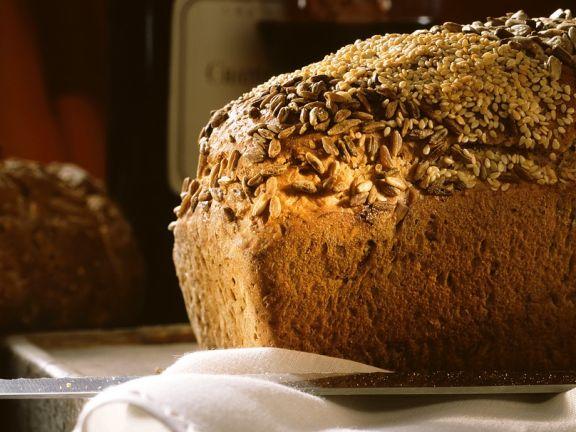 Brot mit Vollkornmehl