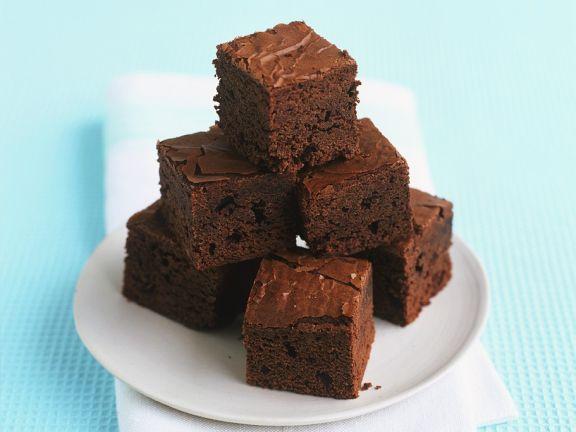Brownie-Würfel