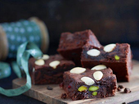Brownies mit gemischten Nüssen
