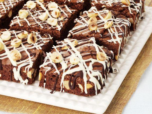 brownies mit haseln ssen rezept eat smarter. Black Bedroom Furniture Sets. Home Design Ideas