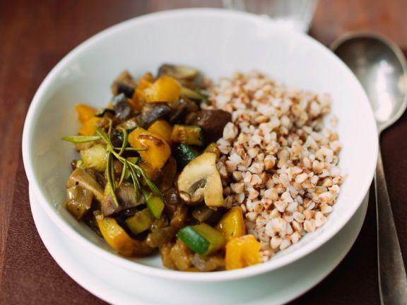 Buchweizen mit Gemüse