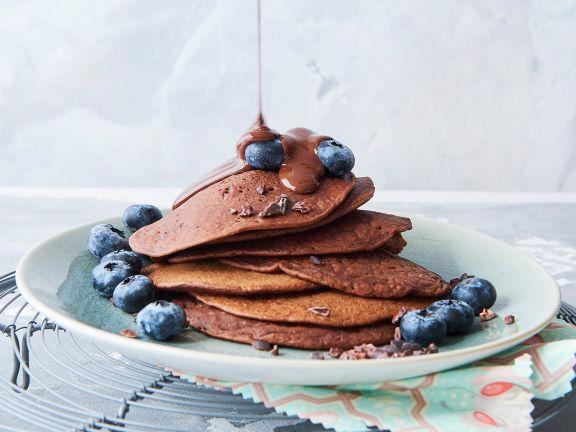 Buchweizen-Schoko-Pancakes