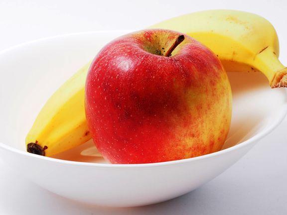 Budwig Creme mit Banane und Apfel