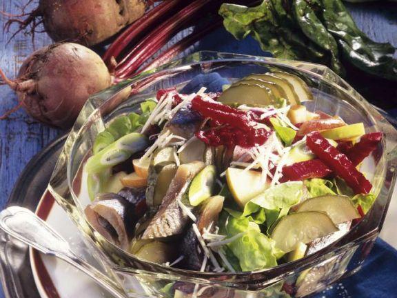 Bunter Fischsalat