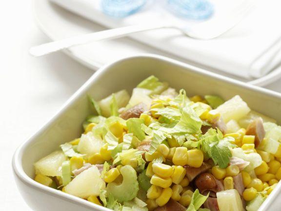 Ananas-Sellerie- und Gurkendiät