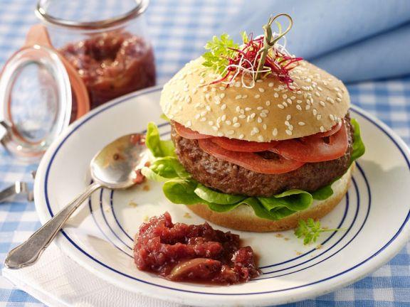 Burger mit Relish