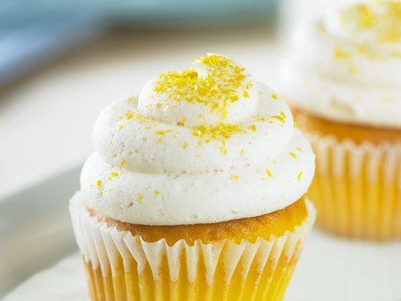 Buttercreme-Zitronen-Cupcake