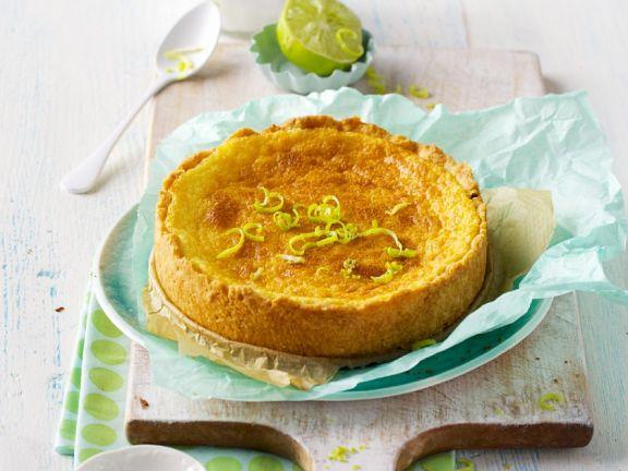 Caipirinha-Kuchen mit Limette und Rum