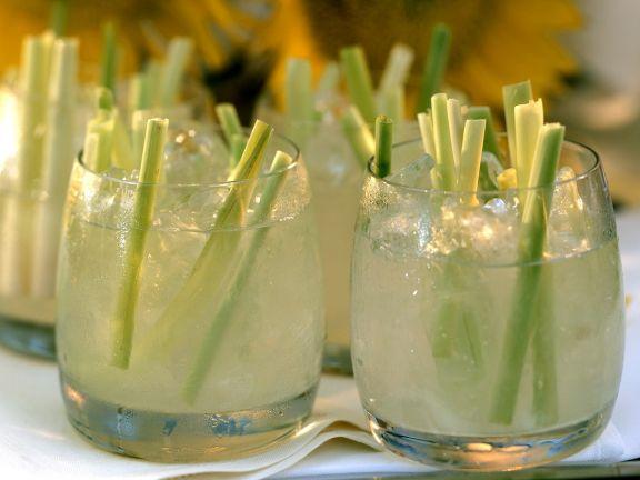 Caipirinha mit Zitronengras