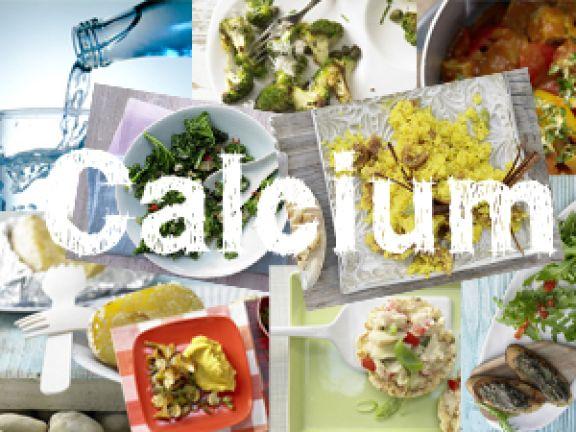 Das sind vegane Calciumquellen