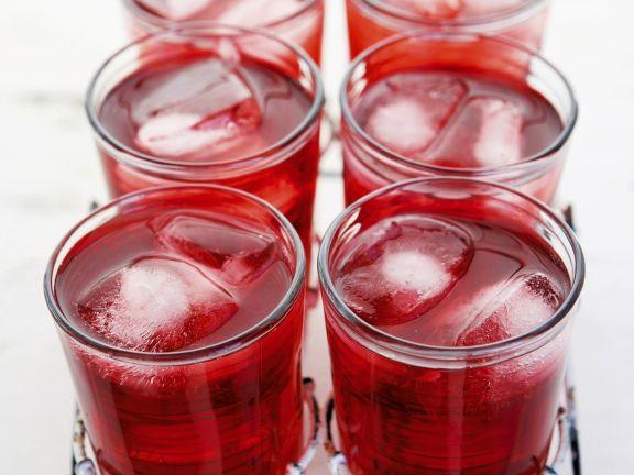 Campari-Hibiskus-Drink