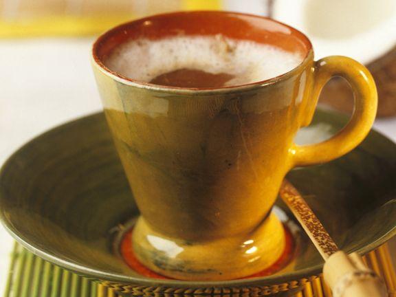 Cappuccino mit Kokosmilch