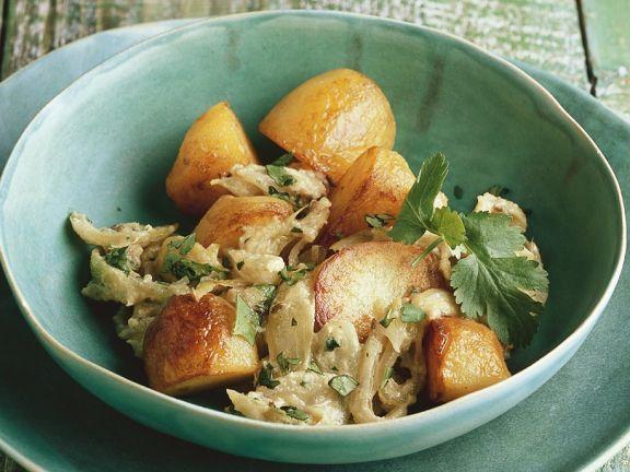 Cashew-Kartoffeln
