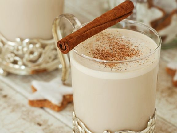 Chai-Latte mit Zimt