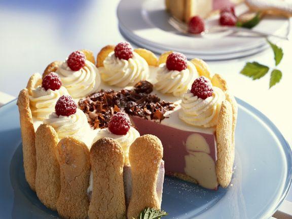 Charolttenkuchen Vanille-Himbeer