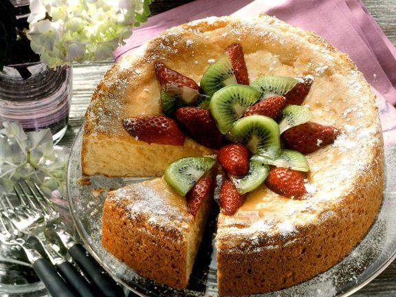 Cheesecake mit Früchten