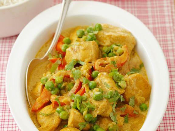 Chicken Curry mit Gemüse