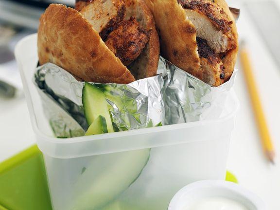 Chicken Tandoori Sandwiches