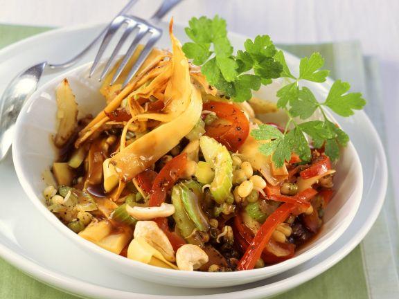 Chop-Suey aus Gemüse