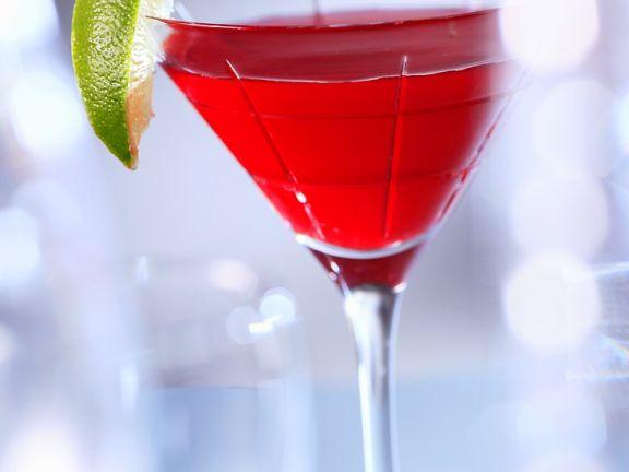 Cocktail mit Limetten