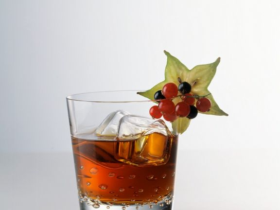 Cocktail mit Rum und Cointreau