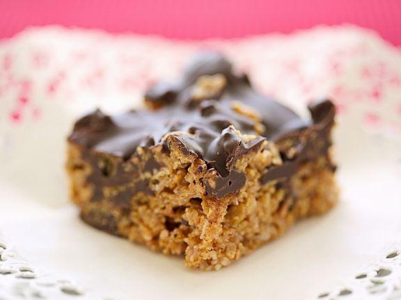 Cornflakes-Erdnussbutter-Kuchen