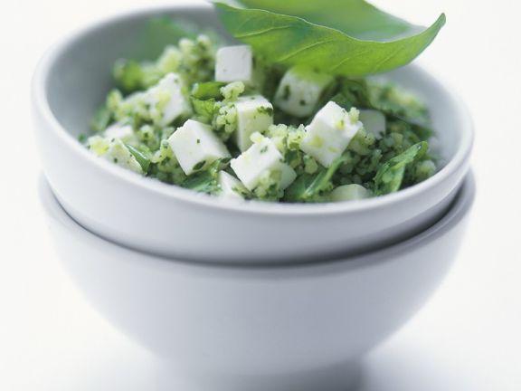 Couscous-Feta-Salat