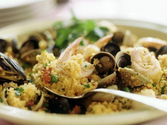 Couscous mit Muscheln