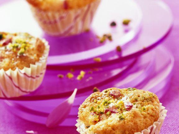 Cranberry-Muffins mit Pistazien