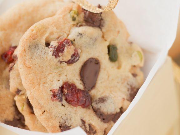 Cranberry-Schoko-Kekse