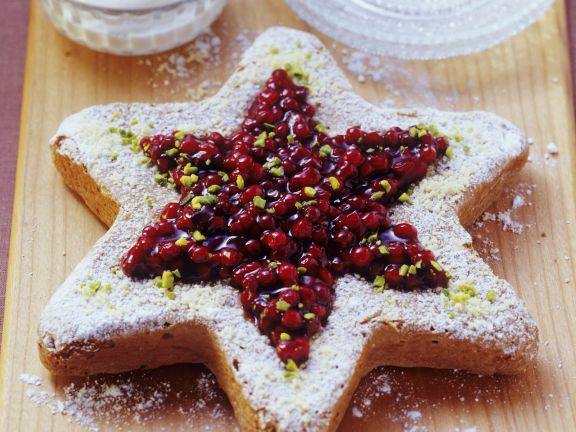 Cranberrykuchen zu Weihnachten