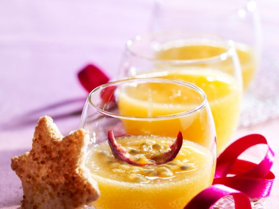 Creme aus Passionsfrucht
