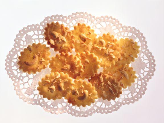 Crème fraîche-Plätzchen