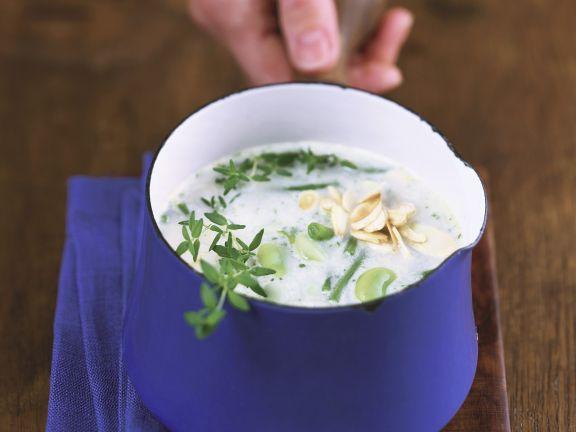 Cremige Bohnensuppe