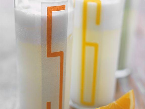 Cremiger Orangendrink