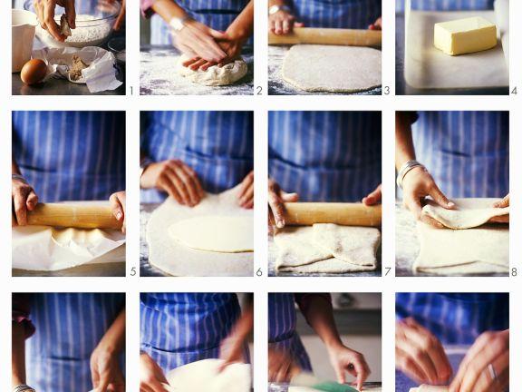 Croissants zubereiten